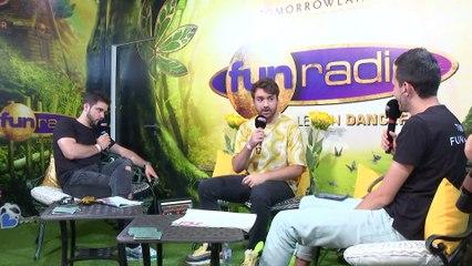 OLIVER HELDENS en interview sur Fun Radio à Tomorrowland 2019