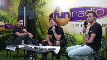 JULIAN JORDAN en interview sur Fun Radio à Tomorrowland 2019