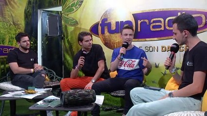 LUCAS & STEVE en interview sur Fun Radio à Tomorrowland 2019