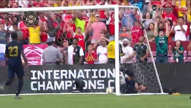 Real Madrid 2-2 Arsenal Match Highlights & Goals & Penalty Shoot (3-2)