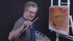 """""""Urinetown"""" writer Greg Kotis finger-paints with Bob Ross and we are here for it — The Bob Ross Challenge"""