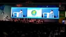West Bengal CM Mamata Banerjee, Rakesh Bharti Mittal Seen At The  Bengal Global Business Summit 2017