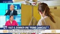 """Prime canicule: """"Madame Buzyn n'a pas bien mesuré les choses"""" Gilles Gadier"""