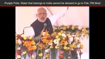 Here's What PM Narendra Modi Said About Water Sharing Between India And Pakistan