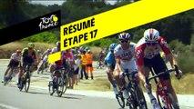 Résumé - Étape 17 - Tour de France 2019