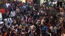 Aishwarya Rai Bachchan Draws Crowds At Noida Mall