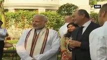 PM Modi Meets Club Des Chefs Des Chefs Members