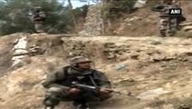 J&K -  Search Operation Underway At Terror Hideouts In Baramulla