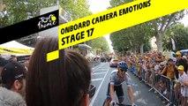 Onboard camera Emotions - Étape 17 / Stage 17 - Tour de France 2019