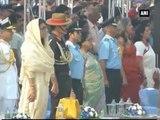 Watch -  Group Captain Sachin Tendulkar attends 84th Air Force Day celebrations
