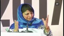 Mehbooba Mufti Breaks Down After Hearing Her Father's Voice In Video Clip