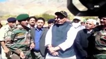 HM Rajnath Singh Visits Kargil War Memorial