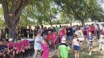 Fête votive au hameau de Gallician : journée des enfants