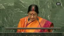 India Fastest Growing Major Economy In The world -  Sushma Swaraj