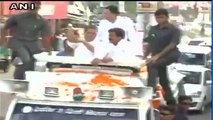 Shoe Hurled At Cong Vice President Rahul Gandhi In Sitapur, UP