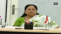 CM Raje Meets Agricultural Development Committee From MP Vidhan Sabha
