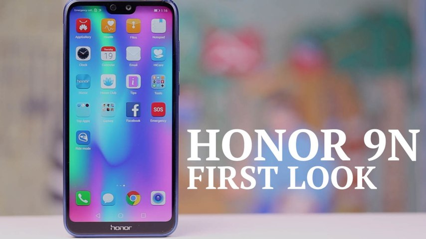Honor 9N first look: A worthy Redmi Note 5 Pro rival with a notch