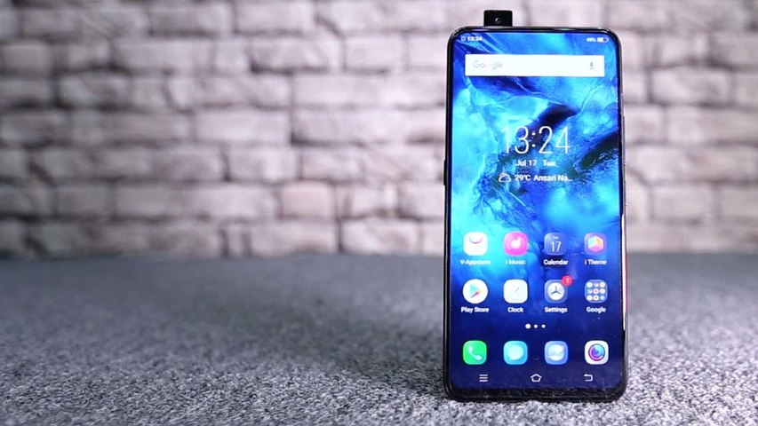 Vivo Nex front camera and how it pops out