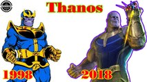 Thanos Transformation from 1998 to 2018 (Avengers Infinity War)