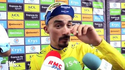 """Tour de France : """"Je me concentre de plus en plus"""" confie Alaphilippe"""