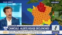 Canicule: L'Île-de-France sont en alerte rouge