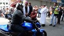 Bénédiction des motards à LOURDES juin 2016