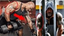 "Dwayne ""The Rock"" Johnson Workout 2018 (Workout Motivation) - The Rock training body"
