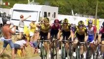 Tour de France : Tony Martin et Luke Rowe exclus pour s'être chauffés en pleine course