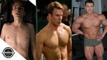 Chris Evans Workout - Body Transformation 1997 - 2018 (Avengers Infinity War)