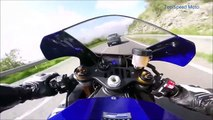 YAMAHA YZF R1 2015 motorcycle top speed Ride on street new  ★