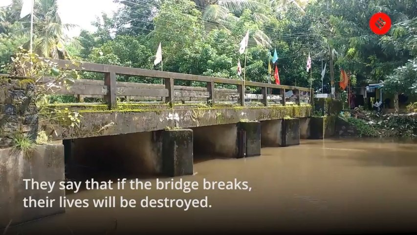 Kerala island worries about floods destroying their link with the mainland