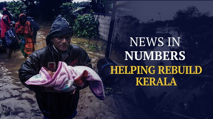 After rescue comes recovery. How states are helping rebuild Kerala: News in Numbers