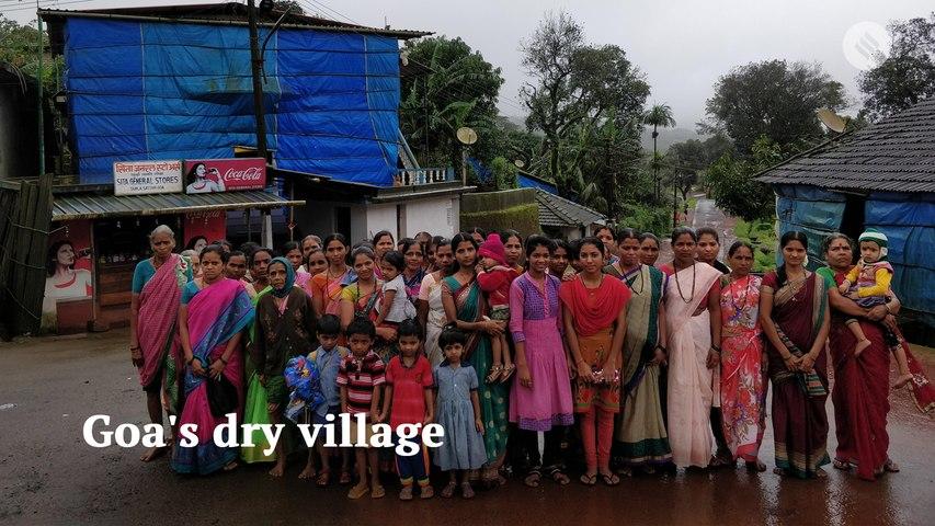 Goa village wants to go dry
