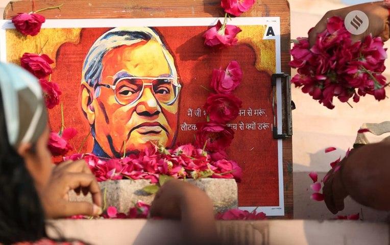 How India bid farewell to Atal Bihari Vajpayee