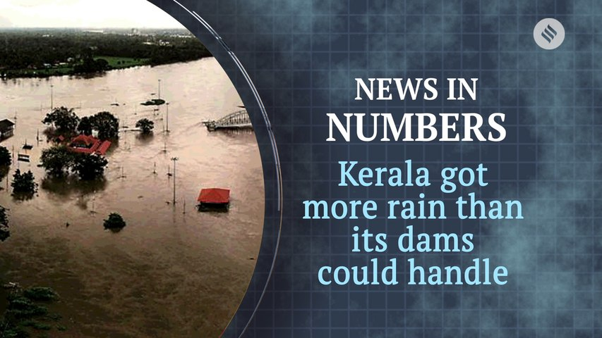 Kerala received a lot more rain than its dams could handle: News in Numbers
