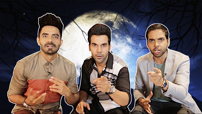Shenanigans with 'Stree' Actors Rajkummar Rao, Aparshakti Khurrana and Abhishek Banerjee