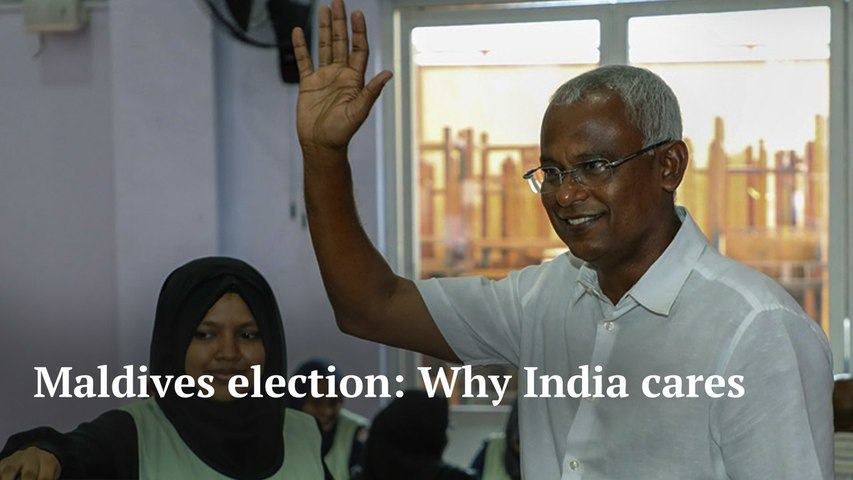 Why India cares about the election in Maldives