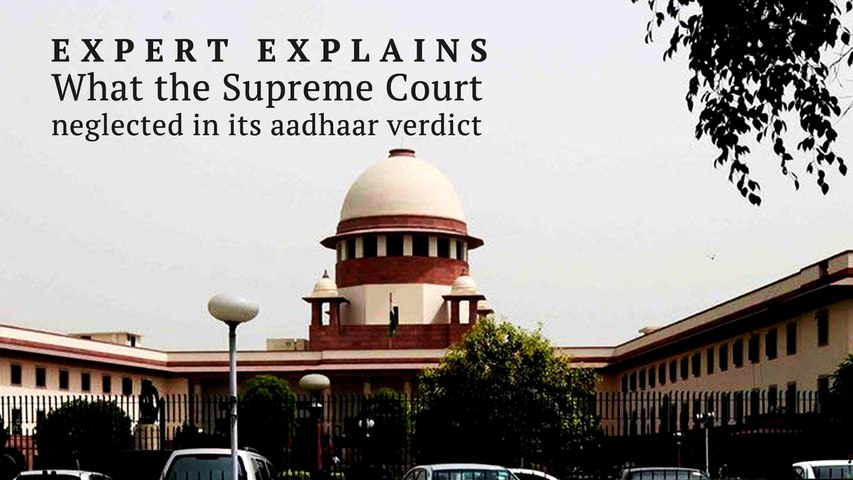 What the Supreme Court did not address in its Aadhaar verdict