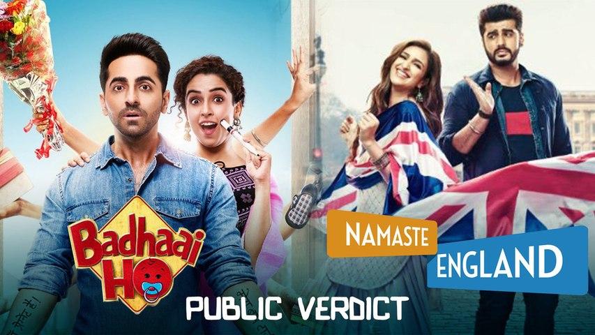Badhaai Ho vs Namaste England: Audience Review