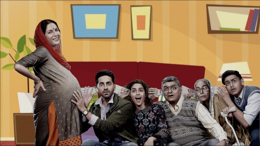 Ayushmann Khurrana and Neena Gupta say Badhaai Ho in different ways