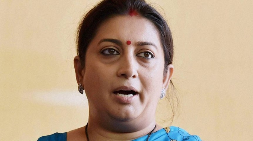 MJ Akbar better positioned to speak on allegations of sexual harassment: Smriti Irani