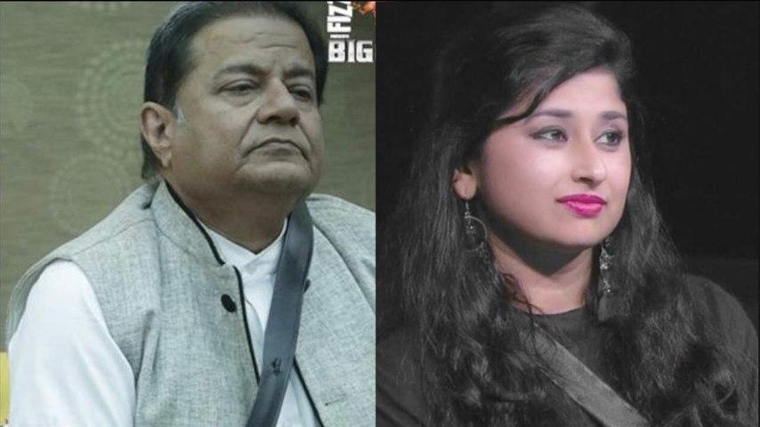 Anup Jalota and Saba Khan evicted from Big Boss 12