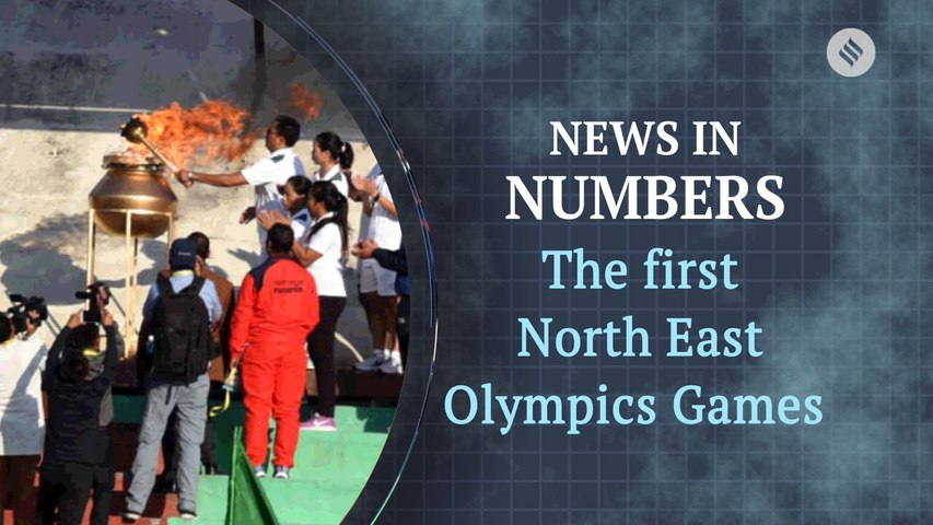 Highlights from the first ever North East Olympics Games: News in Numbers