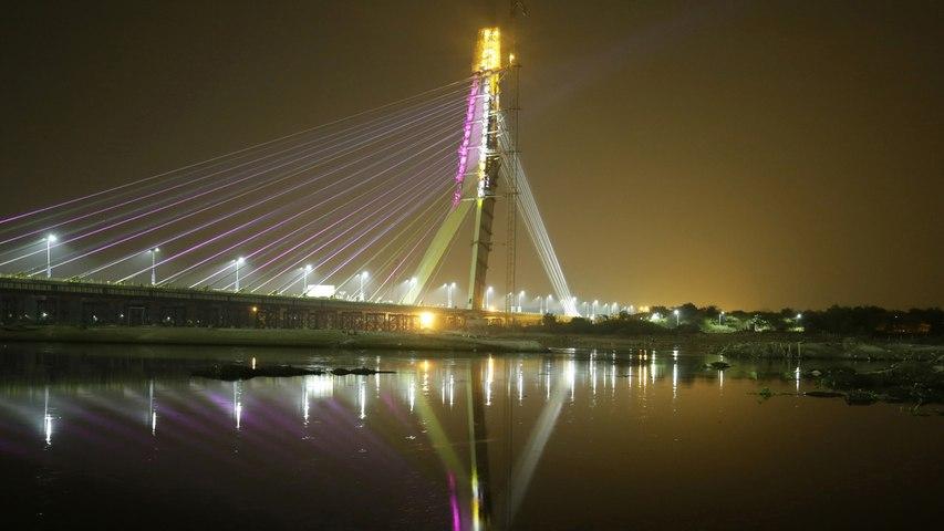 Delhi's Signature bridge opened to public