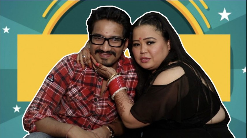 Bharti and Haarsh: We want to invite Shah Rukh Khan and Amitabh Bachchan to our show