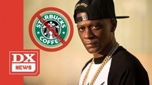 Boosie Badazz Slams Starbucks' Breakfast