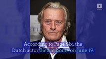 'Blade Runner' Actor Rutger Hauer Dead at 75