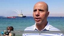 Jordania inaugura un museo militar submarino en el mar Rojo
