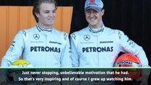Schumacher is a huge inspiration - Rosberg