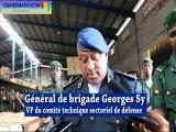 Renforcement des capacités des forces armées guinéennes, plusieurs matériels remis à la 4ème région militaire